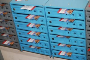 Распространение рекламной продукции по почтовым ящикам.